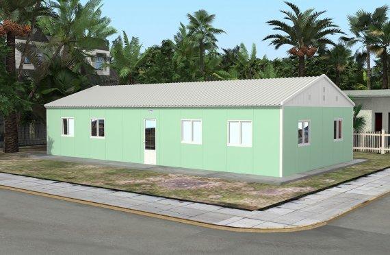 Sală de Clasă Portabilă 117 m²