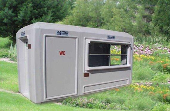 150x390 Toaletă Portabil și Cabină de Securitate