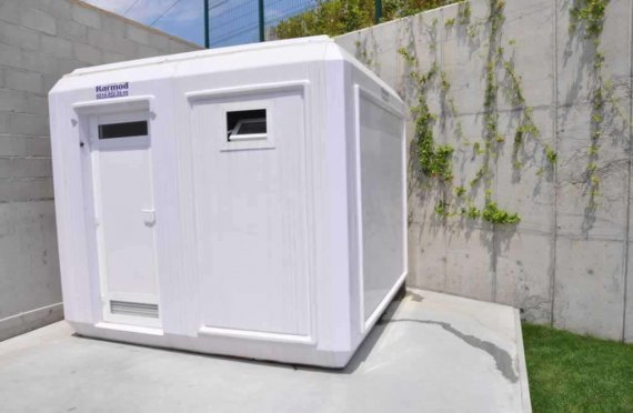 270X270 Toaletă Portabil și Cabină de Duș