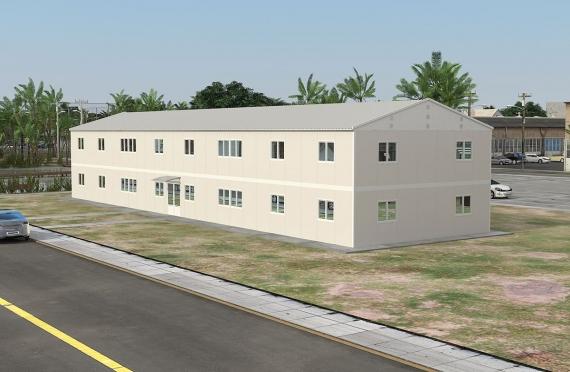 Clădire de Birou Modular 588 m²