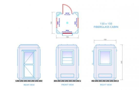 Casă Prefabricată 49 m2