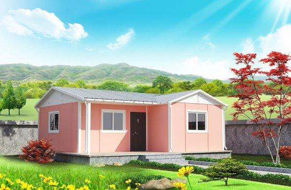 Casă Prefabricată 49 m²