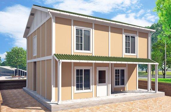 Casă Prefabricată 127 m²
