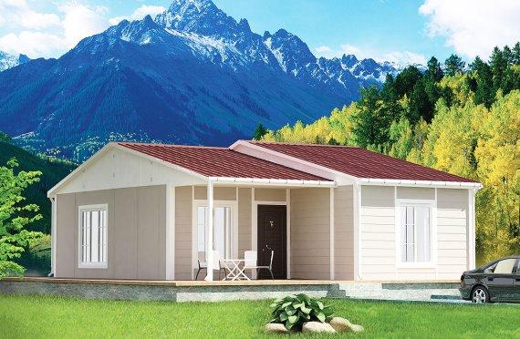 Casă Prefabricată 61 m²