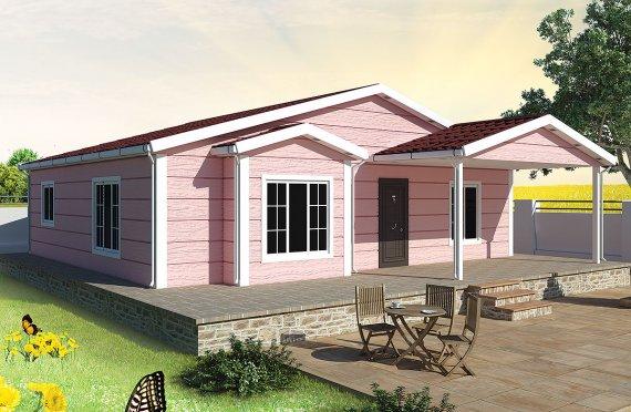 Casă Prefabricată 105 m²