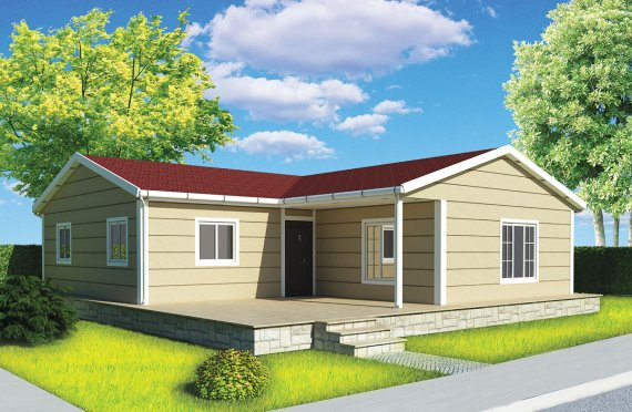 Casă Prefabricată 107 m²