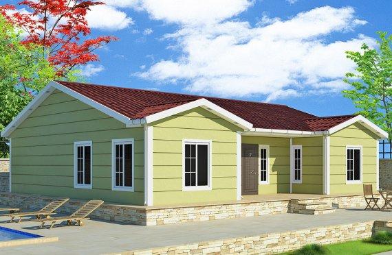 Casă Prefabricată 126 m²