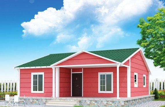 Casă Prefabricată 82 m²