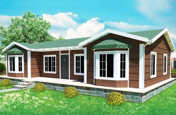 Casă Prefabricată 97 m²