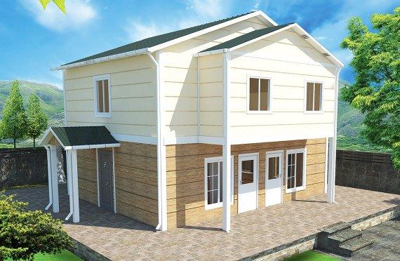 Casă Prefabricată 114 m²