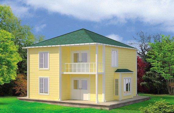 Casă Prefabricată 124 m²