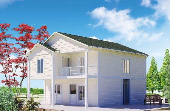 Casă Prefabricată 130 m²