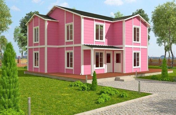 Casă Prefabricată 147 m²