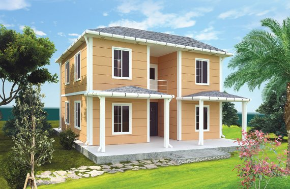 Casă Prefabricată 148 m²