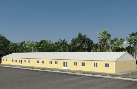 Sală de Clasă Portabilă 681 m²