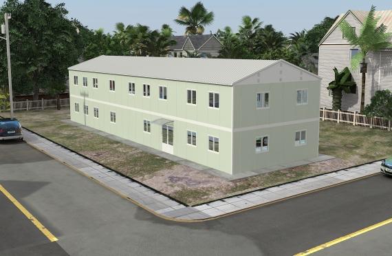Clădire Modulară de Birou 463 m²