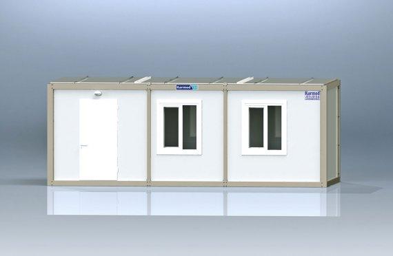 Container de Birou de Ambalaj Plat K1001