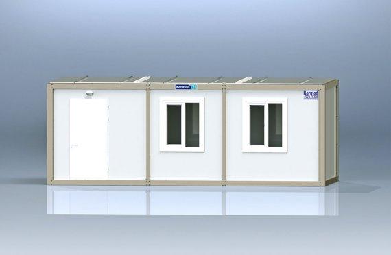 Container de Birou de Ambalaj Plat K8001