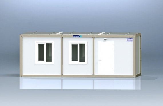 Container de Birou de Ambalaj Plat K2005