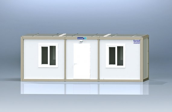 Container de Birou de Ambalaj Plat K3002