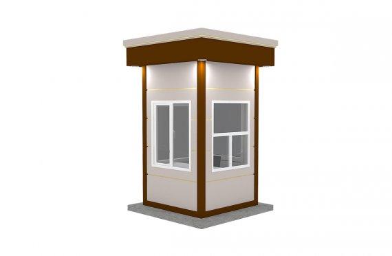 Cabină Modern Prefabricată 150x150