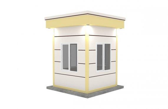 Cabină Modern Prefabricată 200x200
