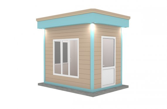 Cabină Modernă Prefabricată 200x300