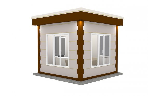 Cabină Modernă Prefabricată 300x300