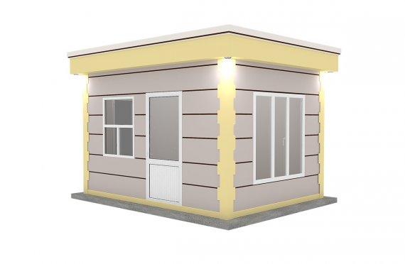 Cabină Modernă Prefabricată 300x400