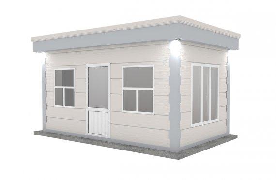 Cabină Modern Prefabricată 300x500