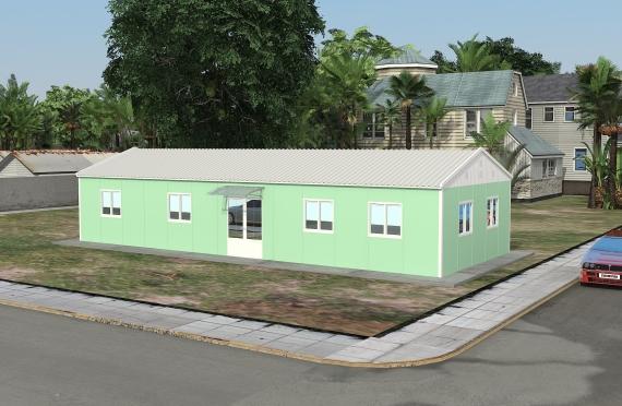 Clădire de Birou Modular 106 m²