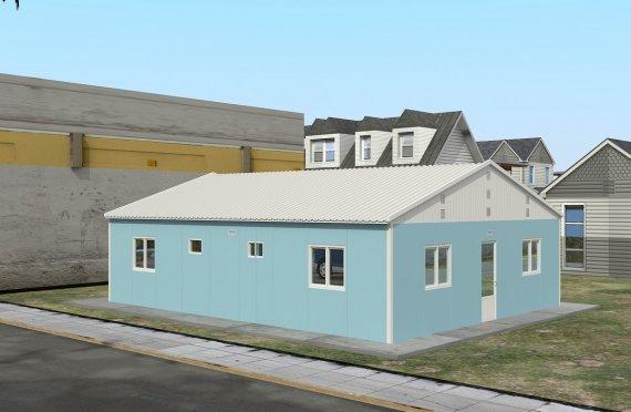 Unitate de Cazare Modulară  102 m²