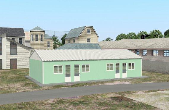 Unitate de Cazare Modulară  117 m²