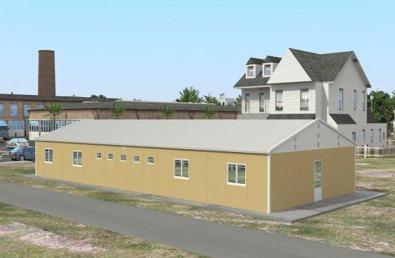 Unitate de Cazare Modulară  193 m²