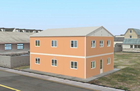 Unitate de Cazare Modulară 206 m²