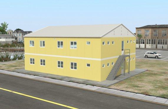 Unitate Modulară de Cazare 348 m²