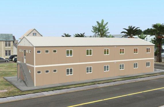 Unitate Modulară de Cazare 474 m²