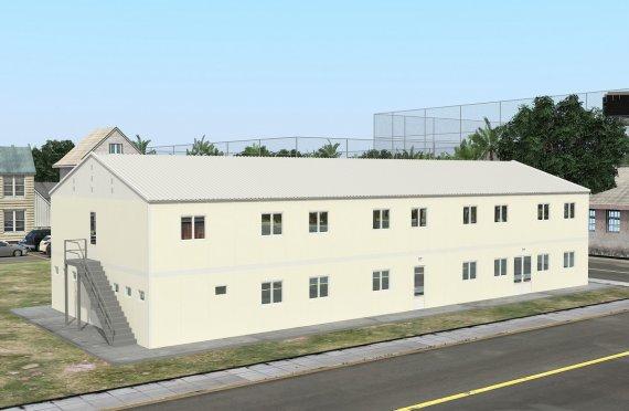 Unitate Modulară de Cazare 662 m²