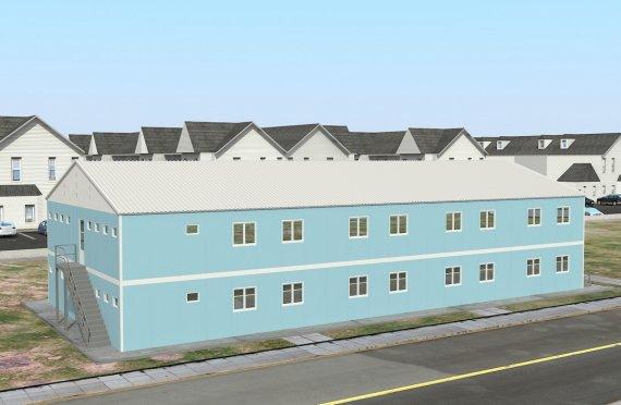 Unitate Modulară de Cazare 736 m²