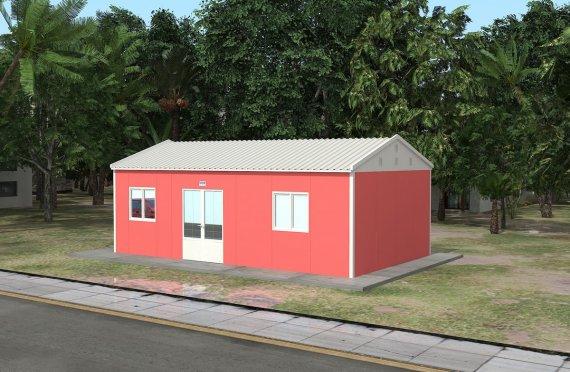 Infirmarie Modulară 46 m²