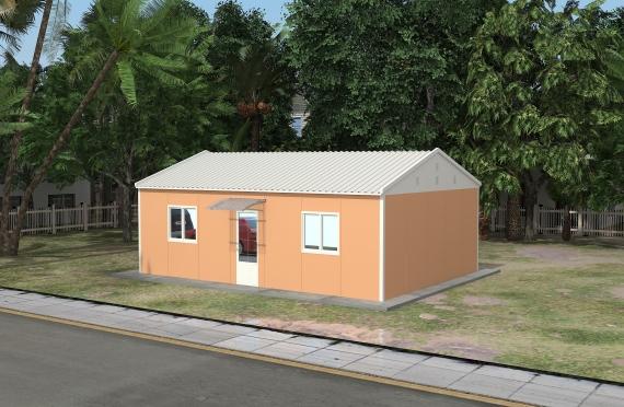 Clădire de Birou Modular 58 m²