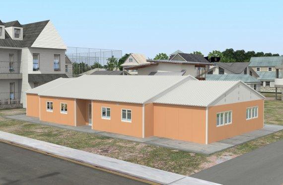Sală de Clasă Portabilă 272 m²