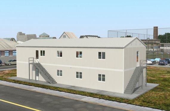 Bucătărie Comercial Prefabricată 332 m²