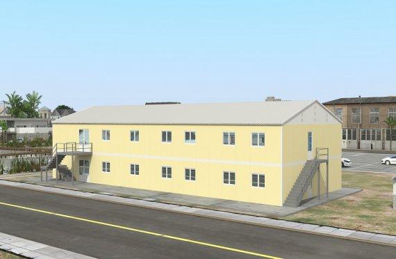 Bucătărie Comercial Prefabricată 576 m²