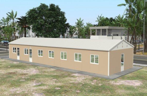 Bucătărie Comercțal Prefabricată 139 m²