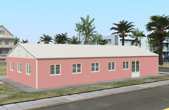Bucătărie Comercial Prefabricat 170 m²