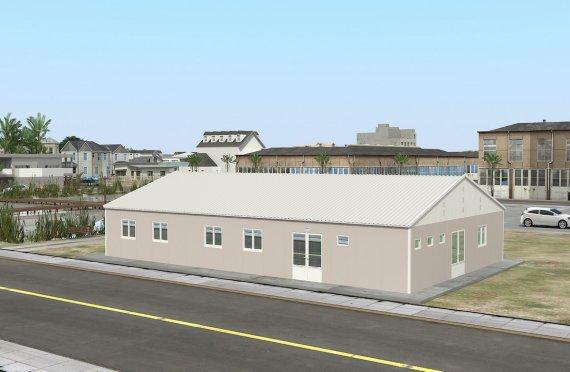 Bucătarie Comercial Prefabricată 217 m²