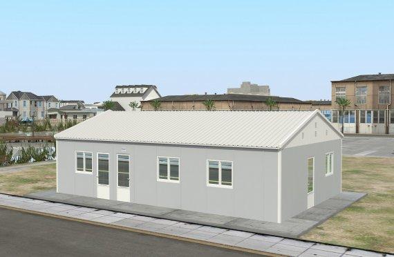 Bucătărie Comercial Prefabricată 89 m²