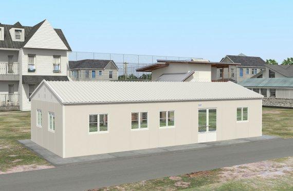 Bucătărie Comercial Prefabricat 98 m²