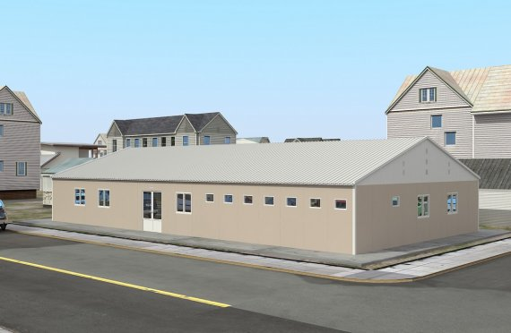 Spital Modular 275 m²